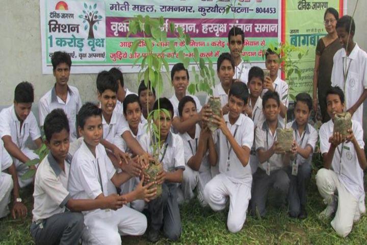 Destiny International School-Tree Plantation