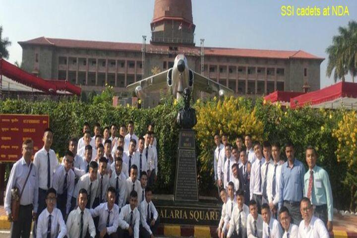 Sainik School-Cadets  at NDA