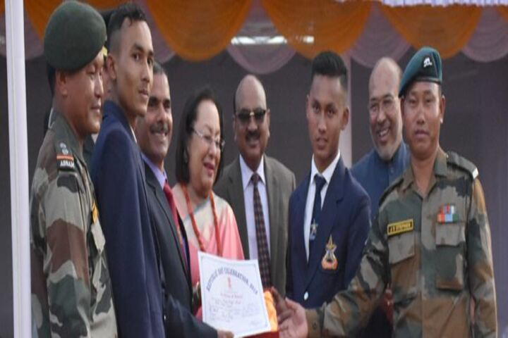Sainik School-Felicitation