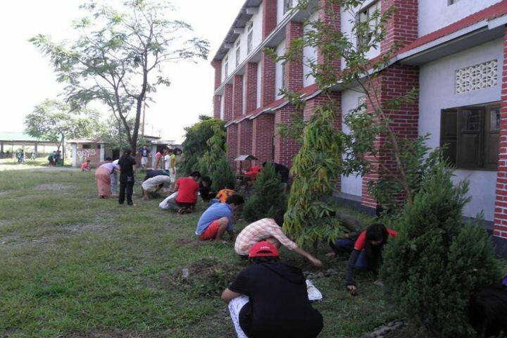 St Anthonys High School-Swachh Bharat