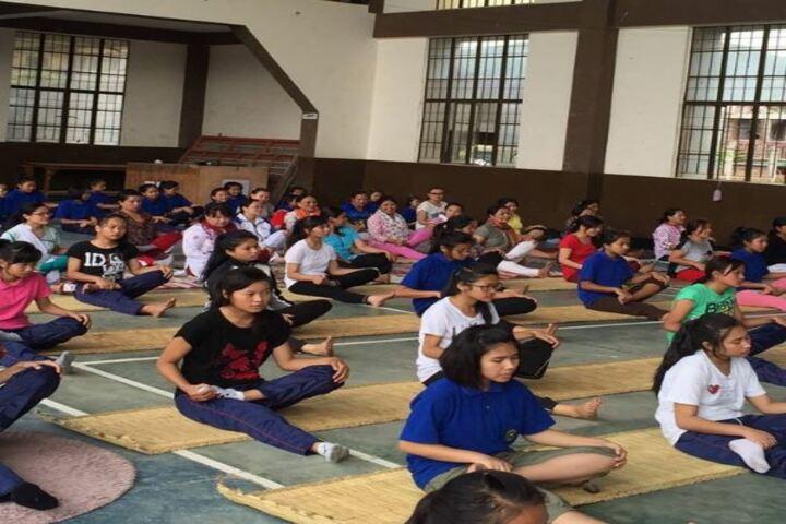 St Anthonys High School-yoga