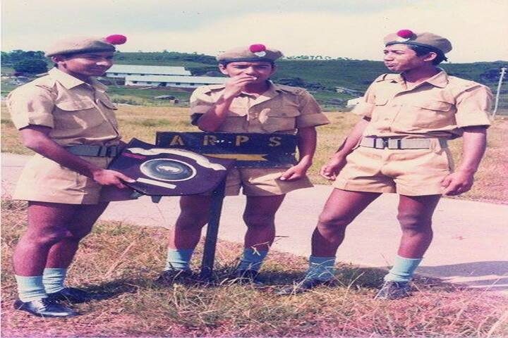 Assam Rifles Public School-NCC