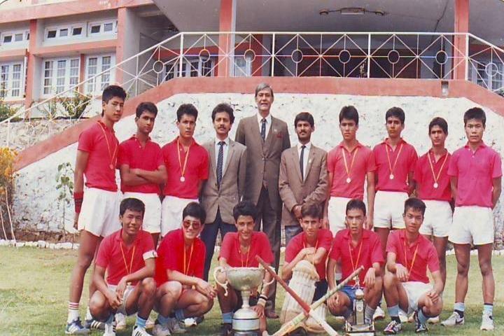 Assam Rifles Public School-Sports Team