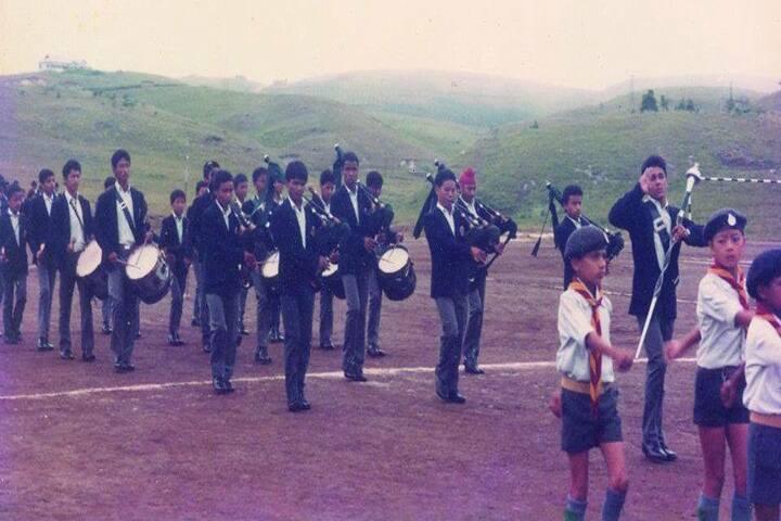 Assam Rifles Public School-Sports day