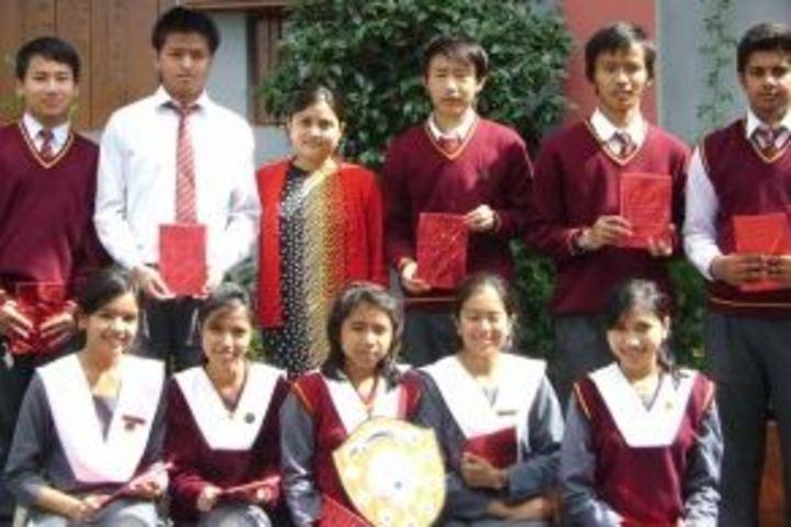 B K Bajoria School-Felicitation