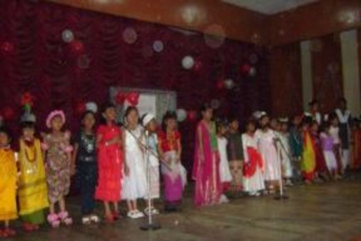 B K Bajoria School-Singing
