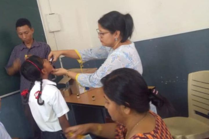 """Captian Williams School-Medical Camp"""