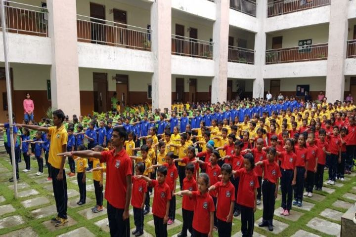 CMCL Vidya Bharati School-Assembly