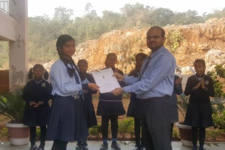 CMCL Vidya Bharati School-Felicitation