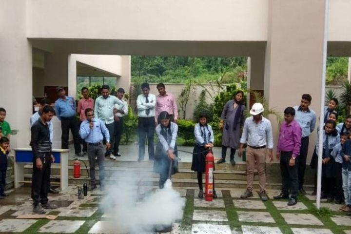 CMCL Vidya Bharati School-Fire Safety Drill