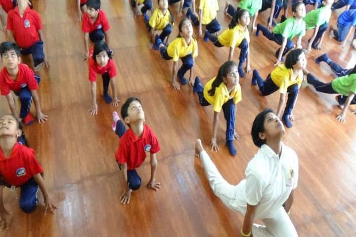 CMCL Vidya Bharati School-Yoga