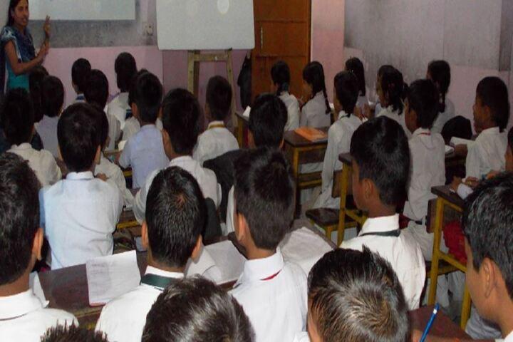 Dhruv Urmila Vidyapeeth-Classroom