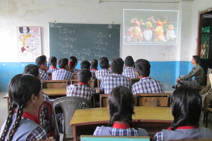 Kendriya Vidyalaya-Classroom smart