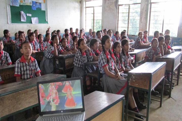 Kendriya Vidyalaya-Classroom with students