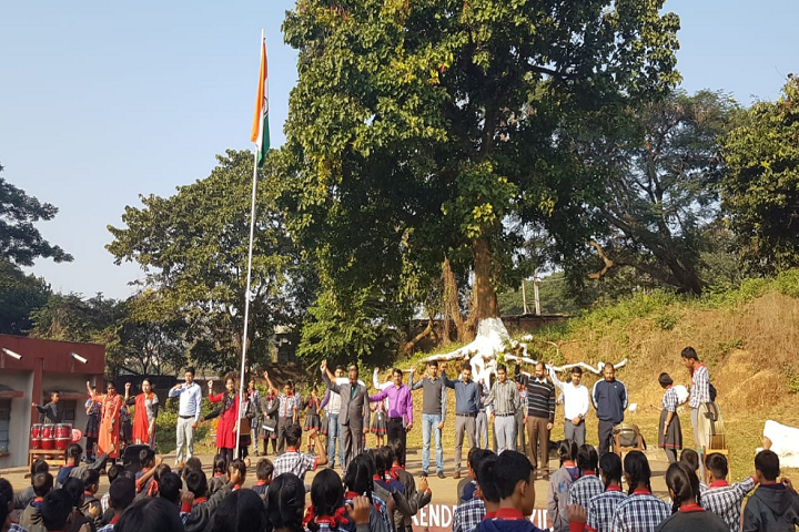 Kendriya Vidyalaya-Events republic day