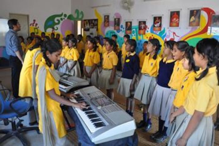 Diksha International School-Music Class