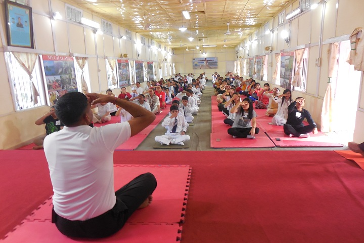 Assam Rifles School Kohima-International Yoga Day