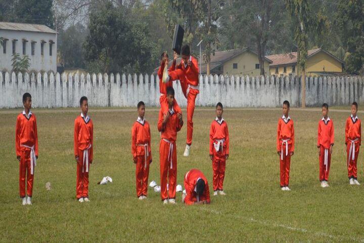 Assam Rifles Training Centre High-Martial Arts