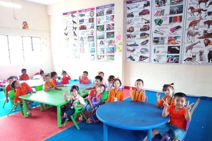 Dmi St Joseph Global School-Kids classroom