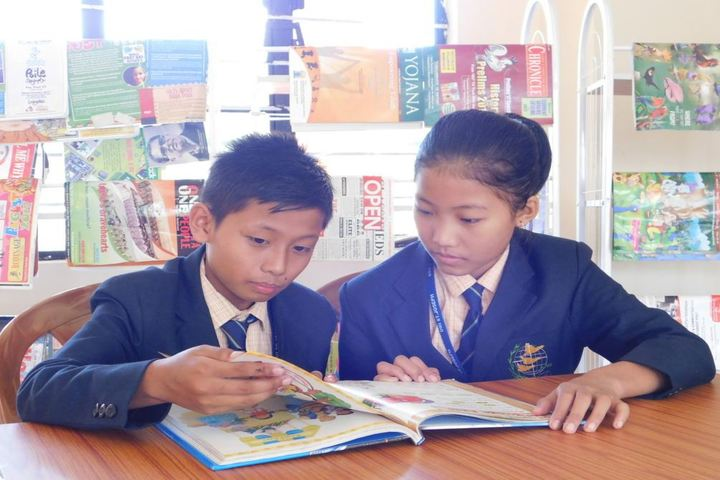 Dmi St Joseph Global School-Library