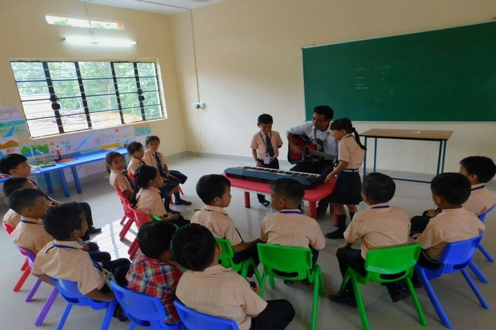 Dmi St Joseph Global School-Music Classroom