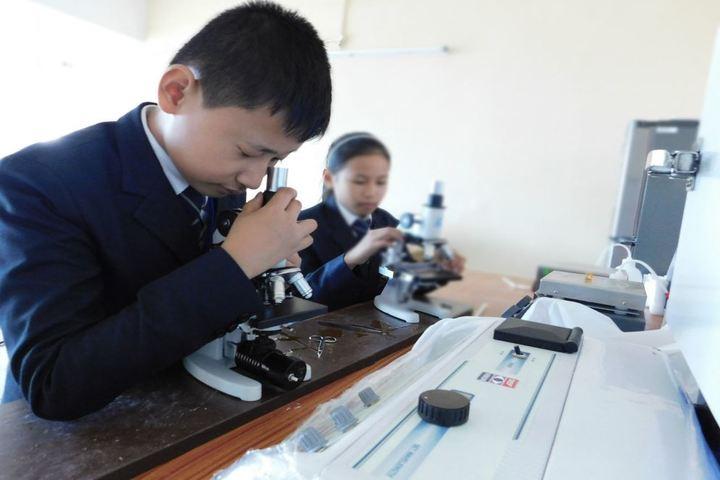 Dmi St Joseph Global School-Biology-Lab