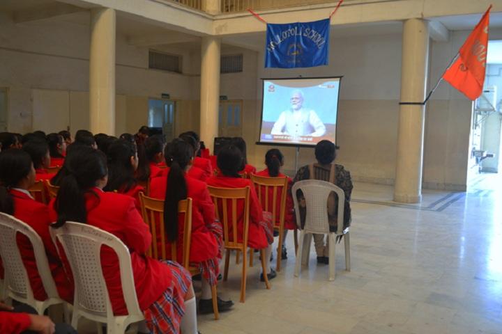 Hollo Toli School-Pariksha Par Charcha Program