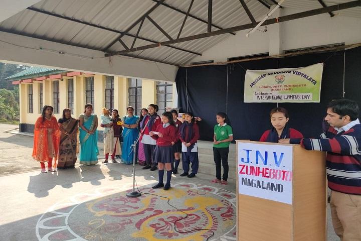 Jawahar Navodaya Vidyalaya-International Womens Day