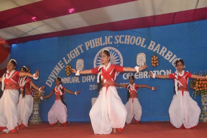 Divine Light Public School-Cultural Dance
