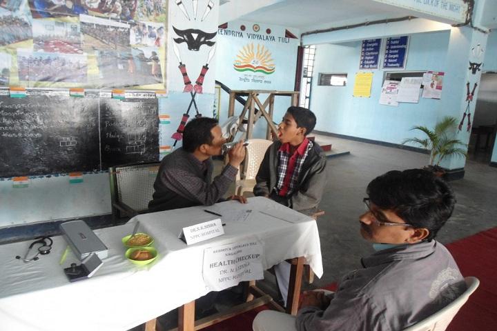Kendriya Vidyalaya Tuli-Medical Health Checkup