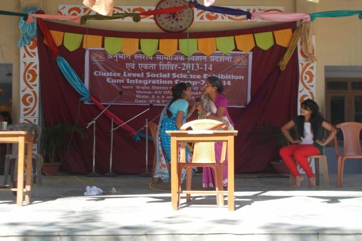 Kendriya Vidyalaya Tuli-Social Science Exhibition Skit