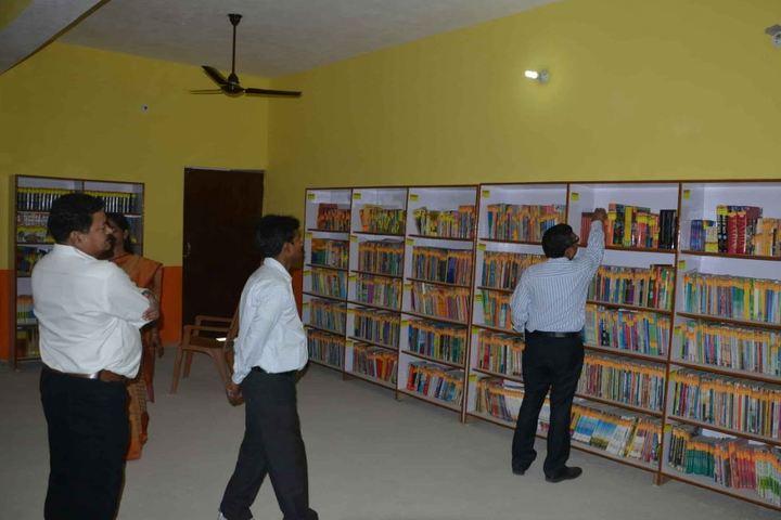 Divya Bhaskar Public School-Library