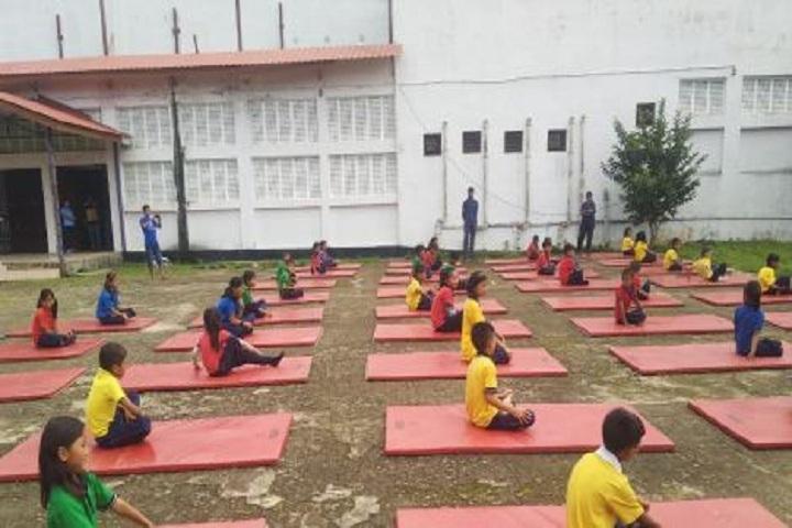 Kendriya Vidyalaya Zunheboto-International Yoga Day
