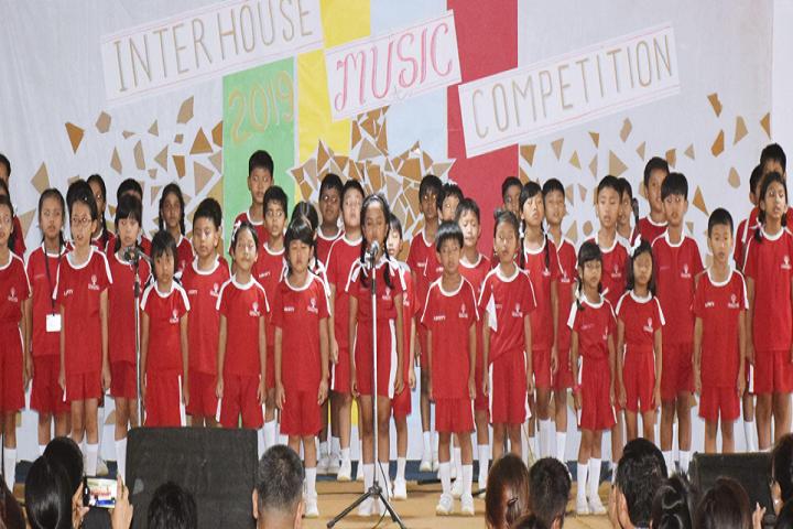 Maple Tree School-Group Singing