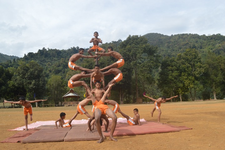 Vivekananda Kendra Vidyalaya-Gym