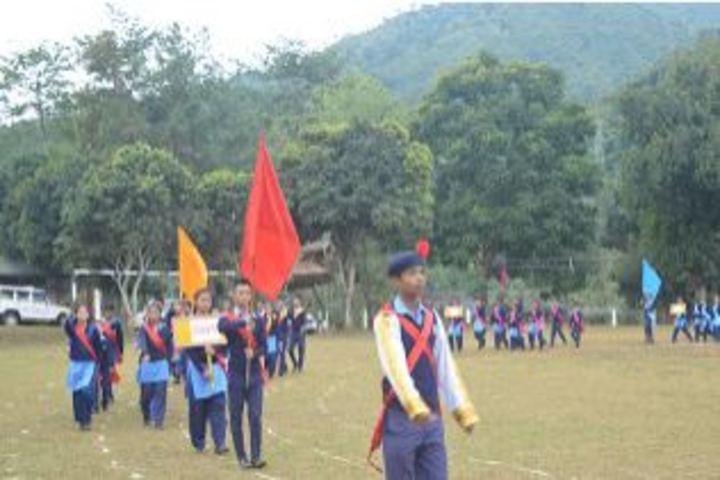 Vivekananda Kendra Vidyalaya-March Fast