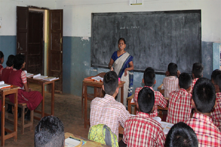 Anand Niketan School-Class Room