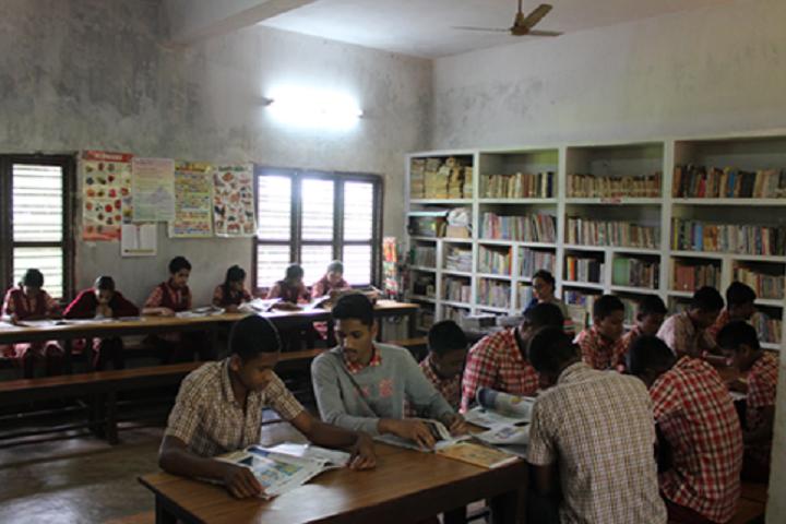 Anand Niketan School-Library