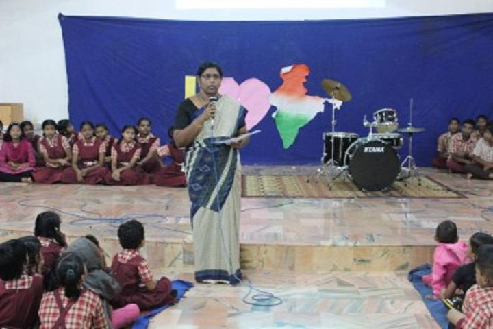 Anand Niketan School-Speech
