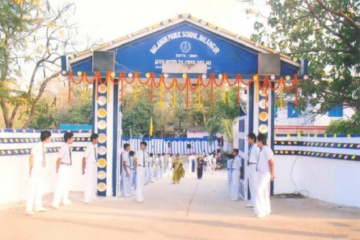 Balangir Public School-Campus-Front