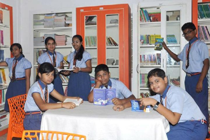 Bhubaneswar Model Public School-Library