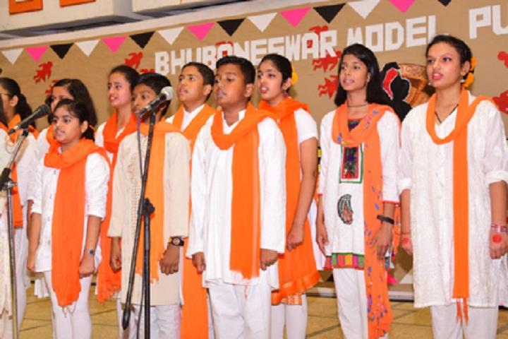Bhubaneswar Model Public School-Singing-Competition