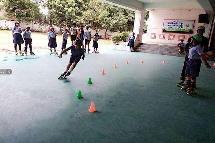 Bhubaneswar Model Public School- Skating Games