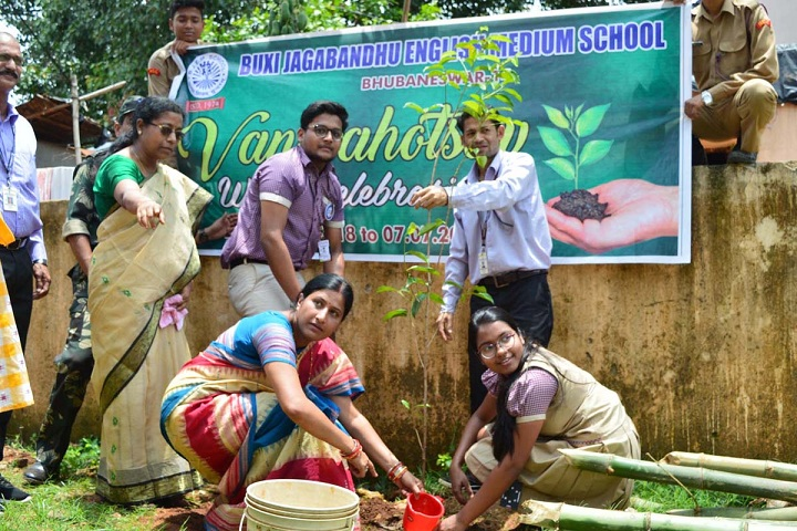 Buxi Jagabandhu English Medium School-Plantation