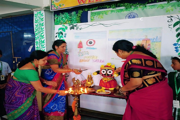 Buxi Jagabandhu English Medium School-Festival Celebration