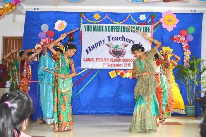 Carmel English Medium School-Teachers day-Celebration