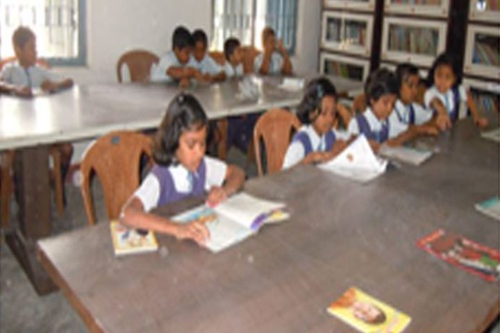 Cement Nagar English Medium School - Library