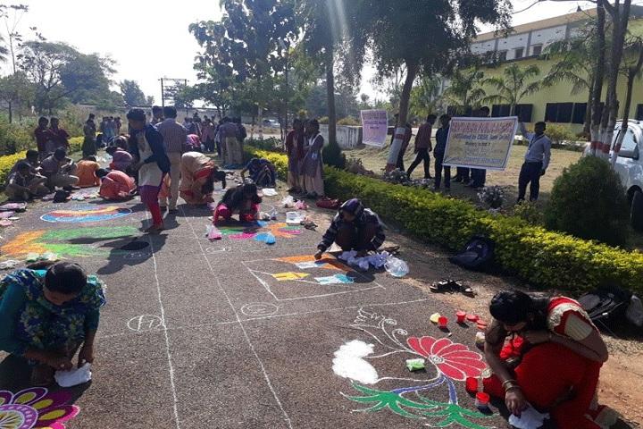 Centurion Public School-Rangoli-Competition