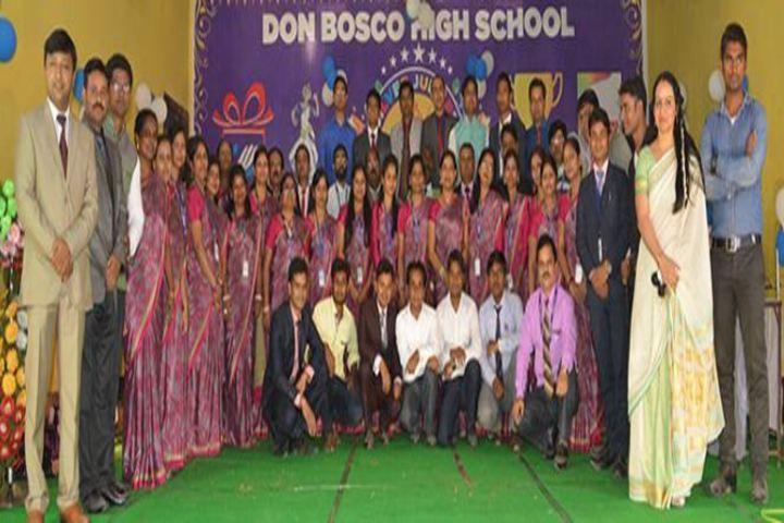Don Bosco High School-School Staff