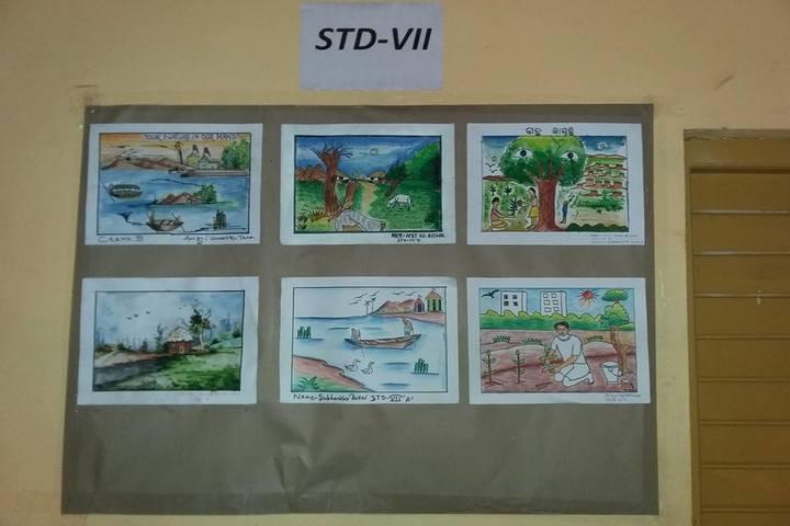 Chilkarani English Medium School-Painting